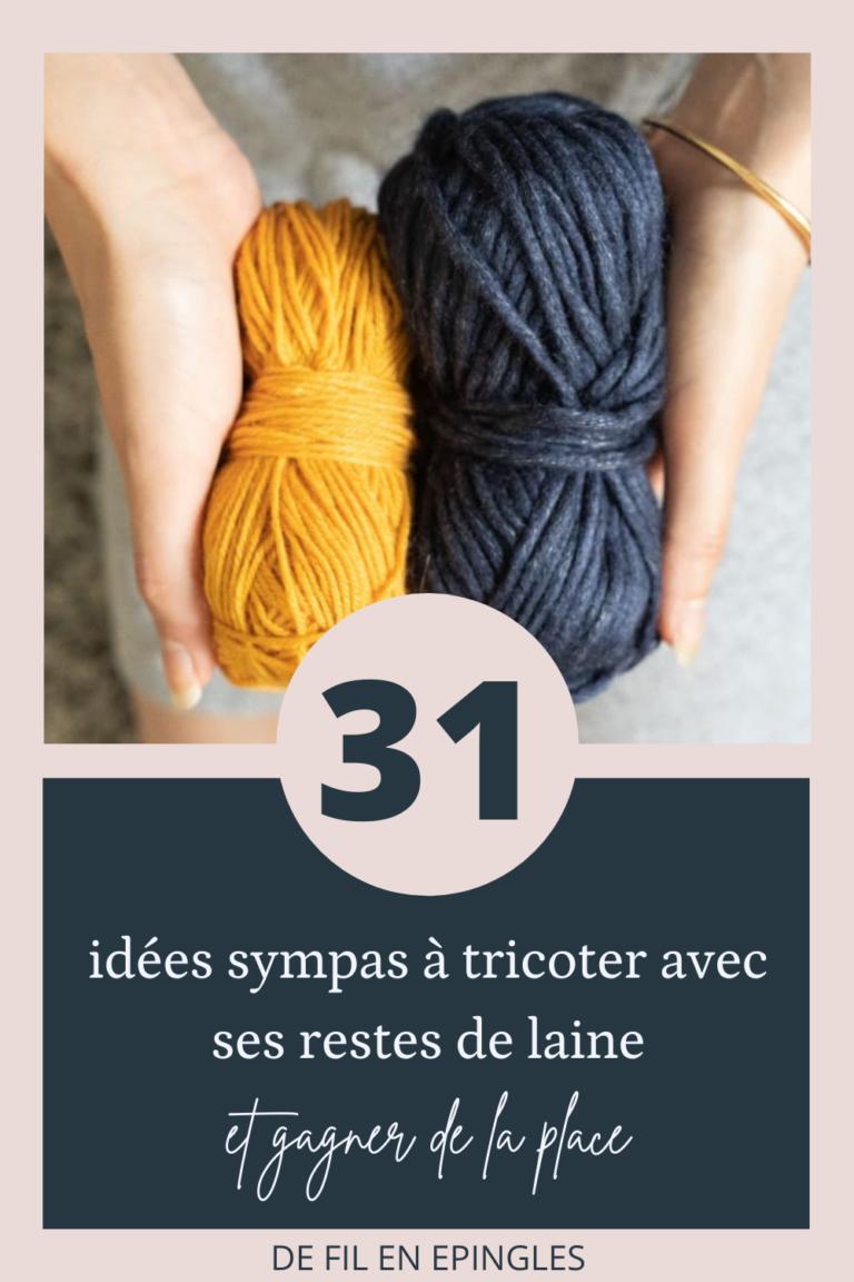 31 idées sympas à tricoter avec ses restes de laine
