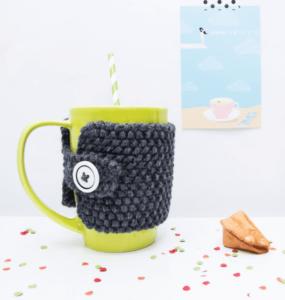 Que faire avec une pelote de laine - cosy mug