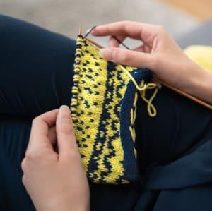 Lexique du tricot - le jacquard