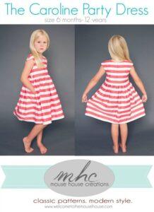 Projets couture : la robe Caroline pour enfant